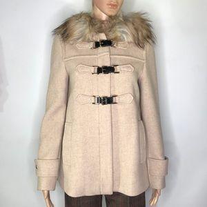 Zara Wool Toggle Coat Size XS